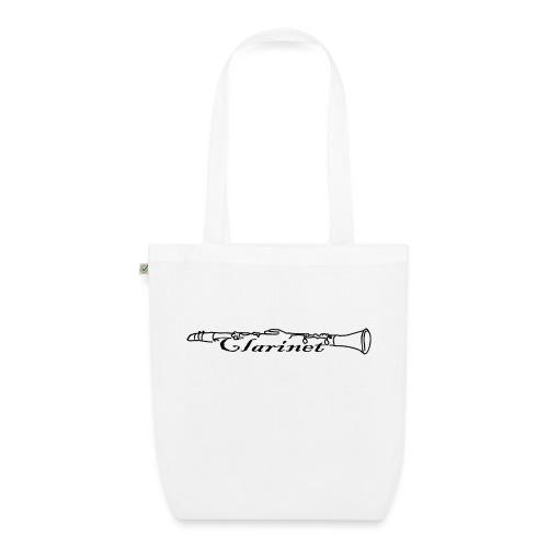 Klarinette Clarinet Blasinstrument Shirt Geschenk - Bio-Stoffbeutel