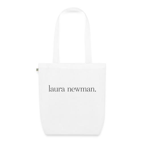 laura newman. Logo | dark - Bio-Stoffbeutel