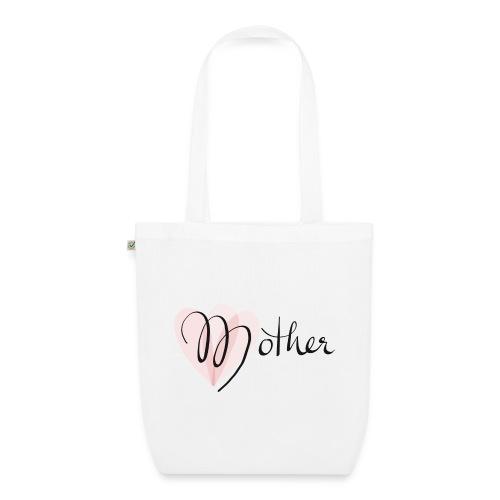 Mother Rose Herz Mutter - Bio-Stoffbeutel