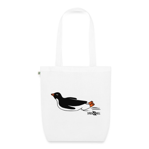 Spreequell Pinguin - Bio-Stoffbeutel