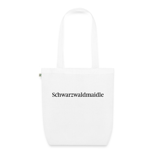 Schwarzwaldmaidle - T-Shirt - Bio-Stoffbeutel