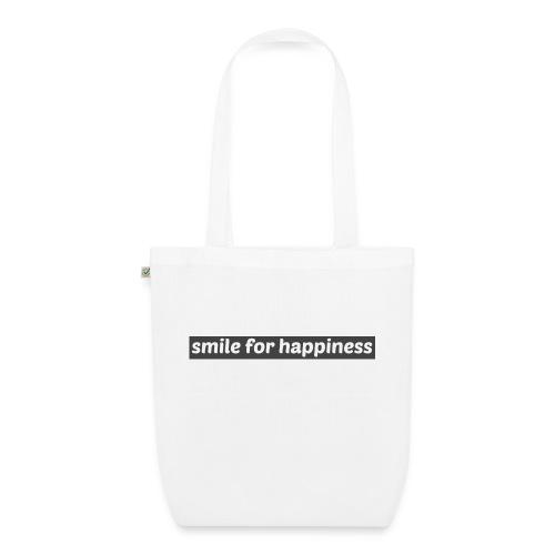 smile for happiness - Ekologisk tygväska