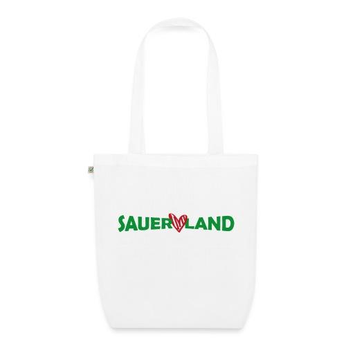 Sauerland Herz - Bio-Stoffbeutel