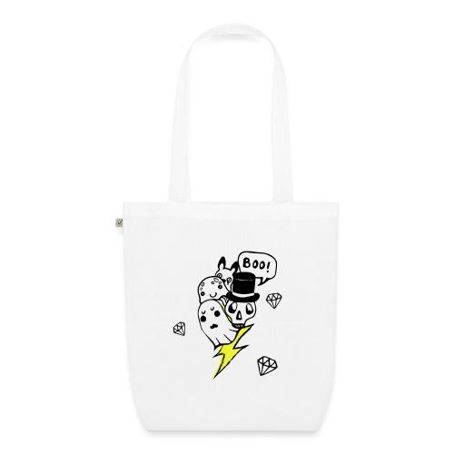 Boo! - Ekologiczna torba materiałowa