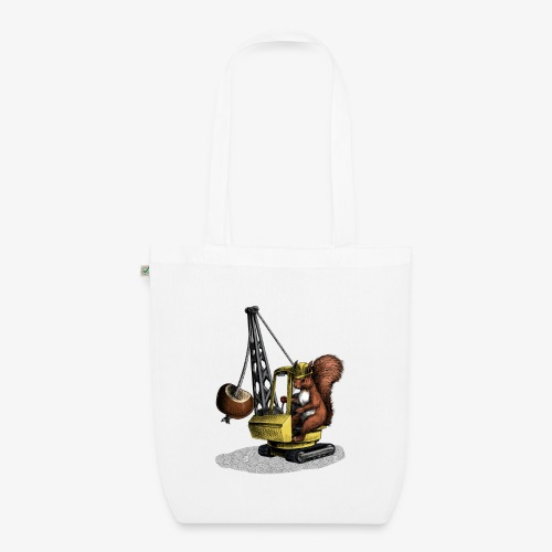 Conker Bonker Squirrel - EarthPositive Tote Bag