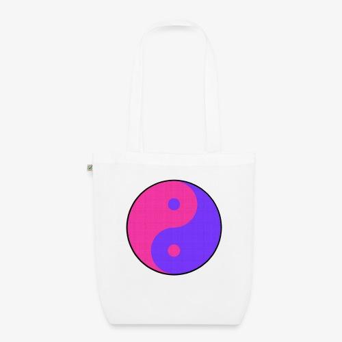 Yin Yang PinkBlue - Bolsa de tela ecológica