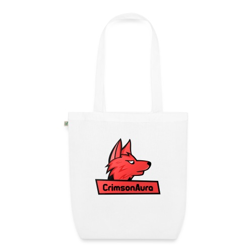 CrimsonAura Logo Merchandise - EarthPositive Tote Bag
