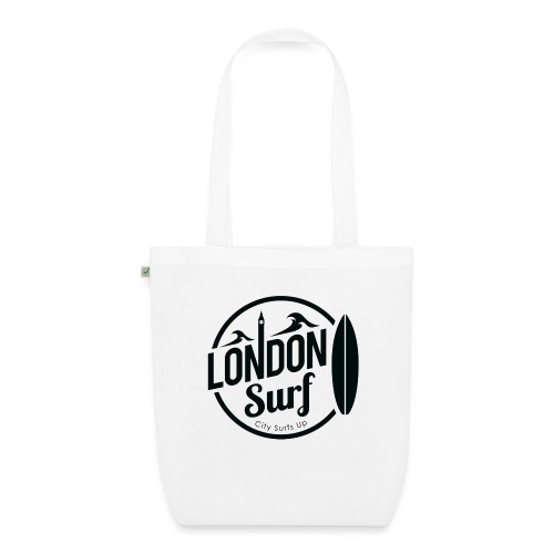 London Surf - Black - EarthPositive Tote Bag