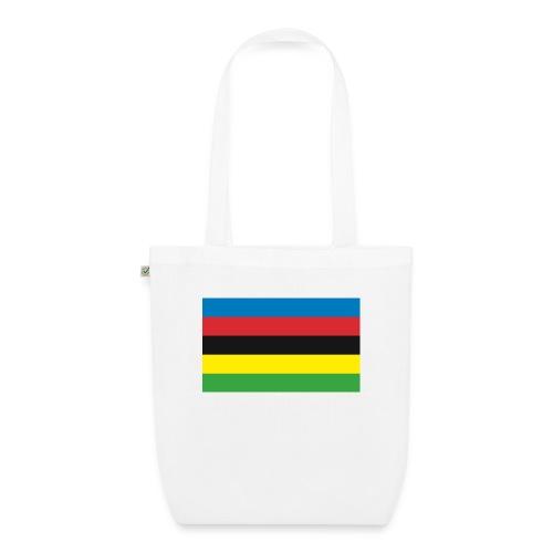 Cycling_World_Champion_Rainbow_Stripes-png - Bio stoffen tas