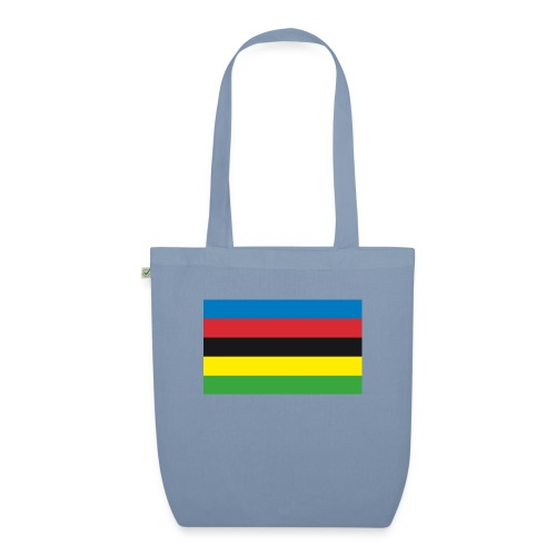 Cycling_World_Champion_Rainbow_Stripes-png - Bio stoffen tas