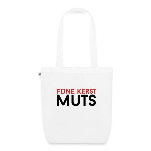 Fijne Kerst Muts - Bio stoffen tas