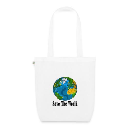 Save The World-Planet - Ekologisk tygväska