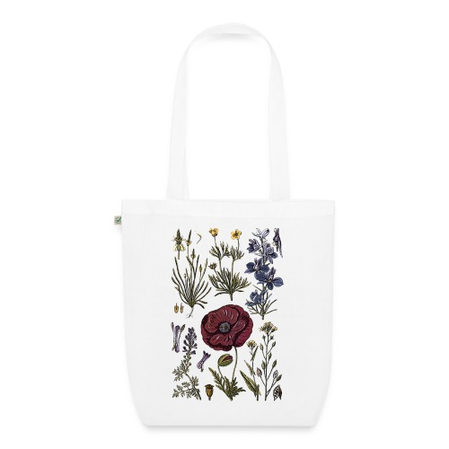 Wild flowers - EarthPositive Tote Bag