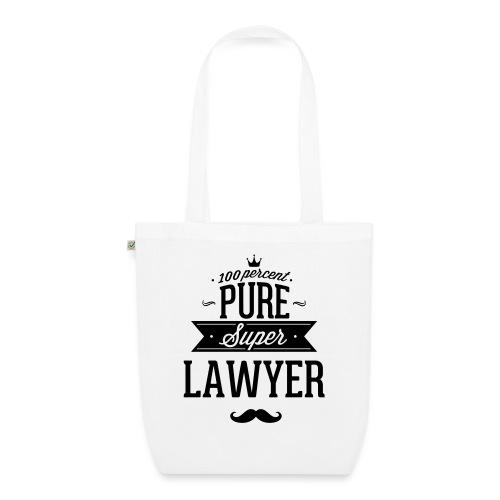 100 Prozent super Anwalt - Bio-Stoffbeutel