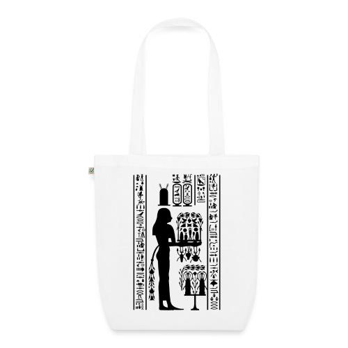 Ägyptische Hierogylphen - Bio-Stoffbeutel