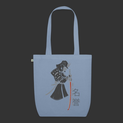 Samurai Digital Print - EarthPositive Tote Bag