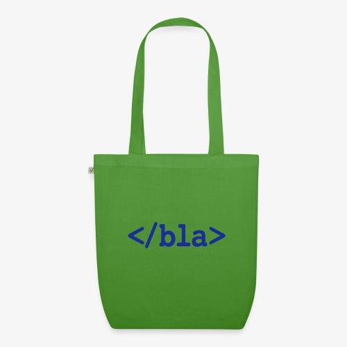 Bla HTML - Bio-Stoffbeutel
