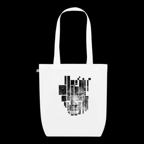 Pixel Lion Tattoo Inspire - EarthPositive Tote Bag