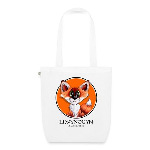 llwynogyn - a little red fox (black) - Luomu-kangaskassi