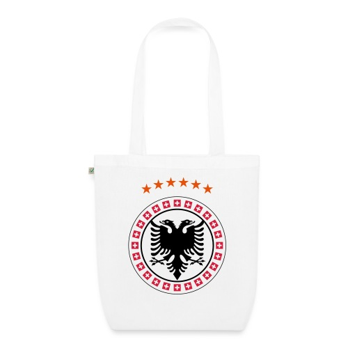 Albanien Kosovo Schweiz - Bio-Stoffbeutel