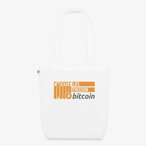 Bitcoin - Sac en tissu biologique