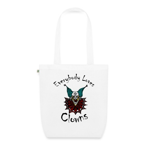 Everybody Loves Clowns - EarthPositive Tote Bag