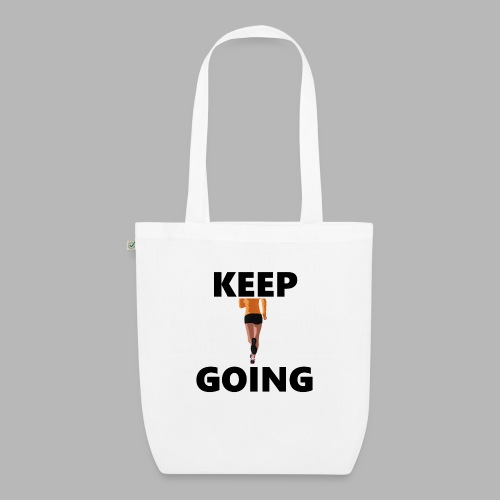 Keep going - Bio-Stoffbeutel