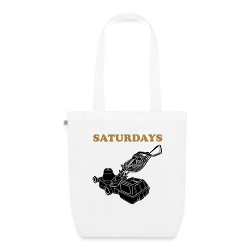 Saturdays Lawnmower - EarthPositive Tote Bag