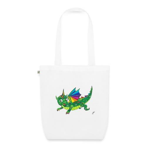 happy dragon - Bio-Stoffbeutel