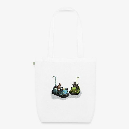 Cat Dodgems - EarthPositive Tote Bag