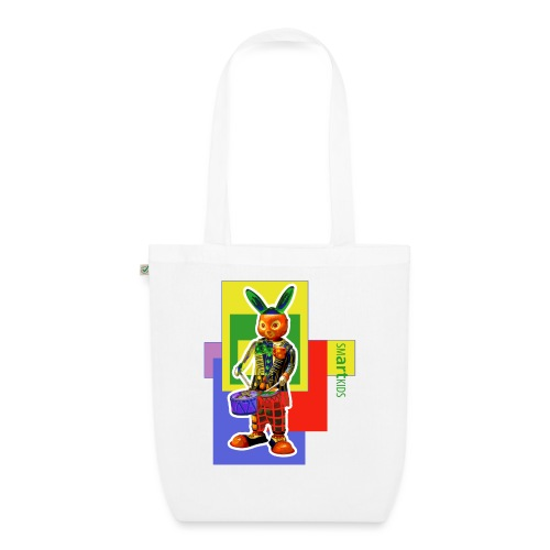 smARTkids - Slammin' Rabbit - EarthPositive Tote Bag