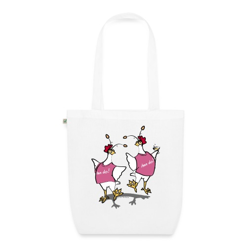 Hen Party (pink) - EarthPositive Tote Bag