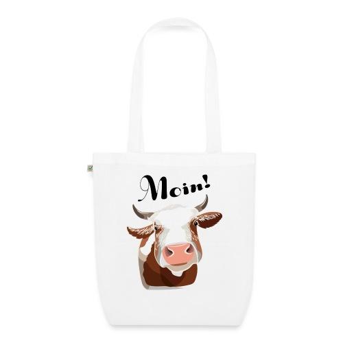 Kuh Moin! - Bio-Stoffbeutel