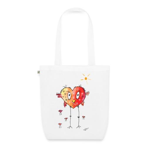 Happy heart - Bio-Stoffbeutel
