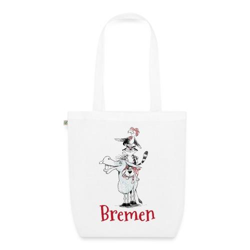 Bremer Stadtmusikanten - Bio-Stoffbeutel