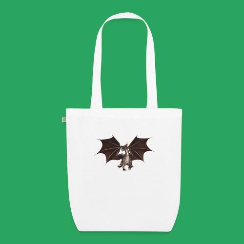 dragon logo color - Borsa ecologica in tessuto