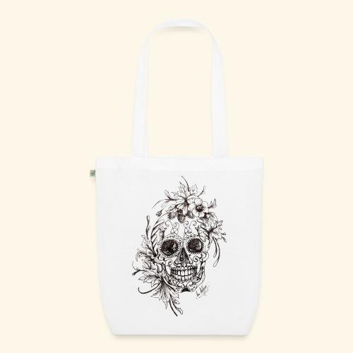 SkullDrawings - Ekologisk tygväska
