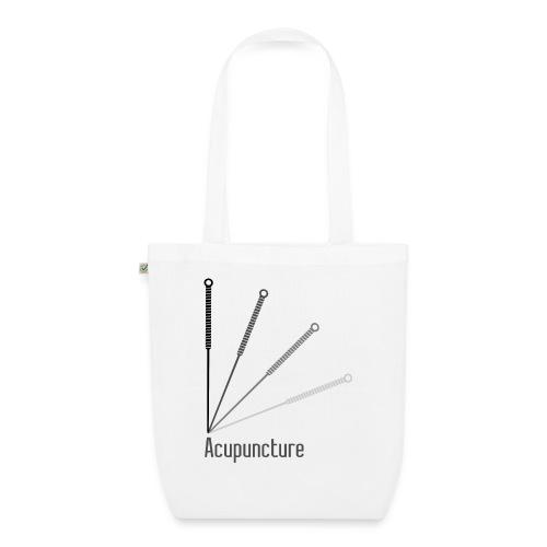 Acupuncture Eventail (logo noir) - Sac en tissu biologique