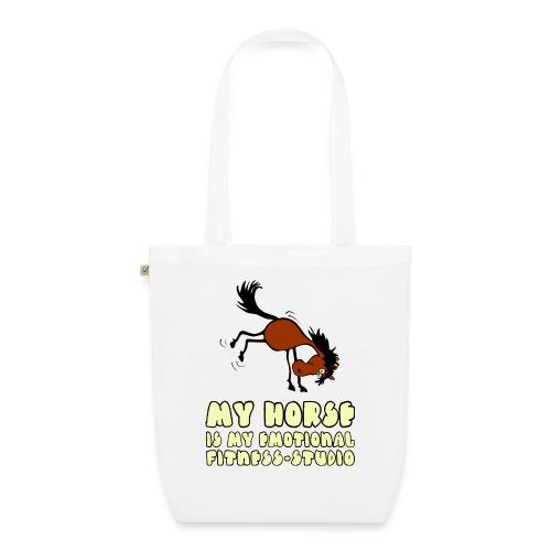 my horse is my emotional Fitness Studio - Bio-Stoffbeutel