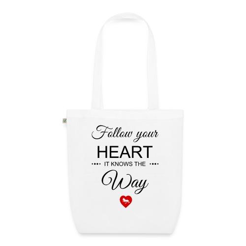 follow your heartbesser - Bio-Stoffbeutel