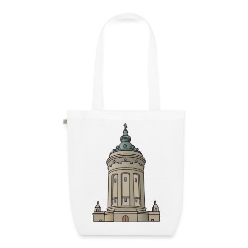 Wasserturm Mannheim c - Bio-Stoffbeutel