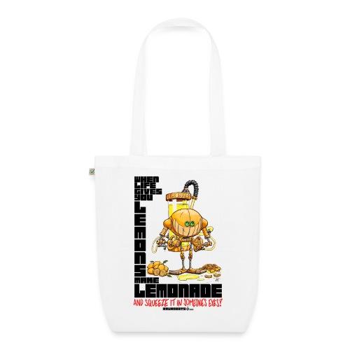 Lemonade Robot!🍋 - Øko-stoftaske