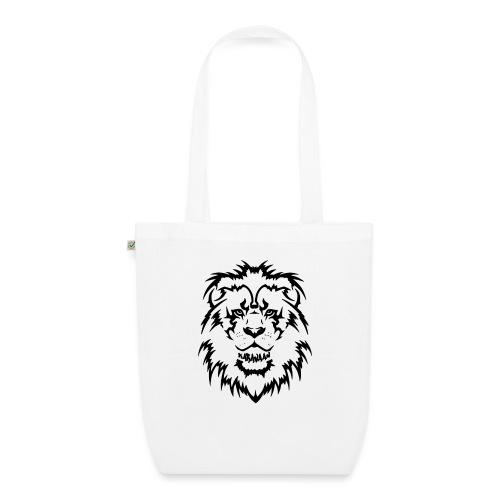 Karavaan Lion Black - Bio stoffen tas