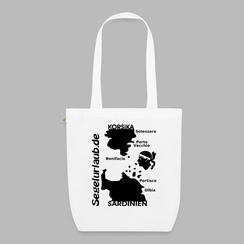 Korsika Sardinien Mori Shirt - Bio-Stoffbeutel