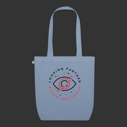 Space Individuals - Looking Further White - EarthPositive Tote Bag