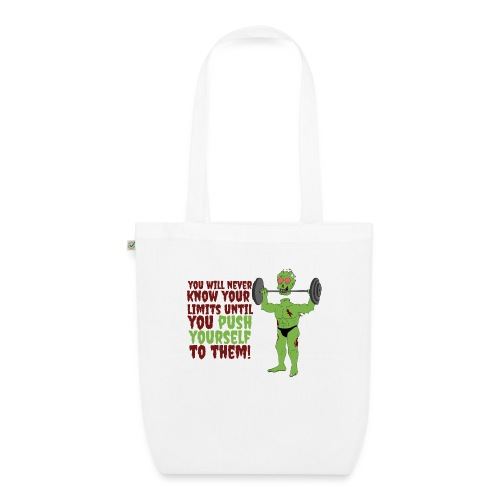 Push yourself - EarthPositive Tote Bag