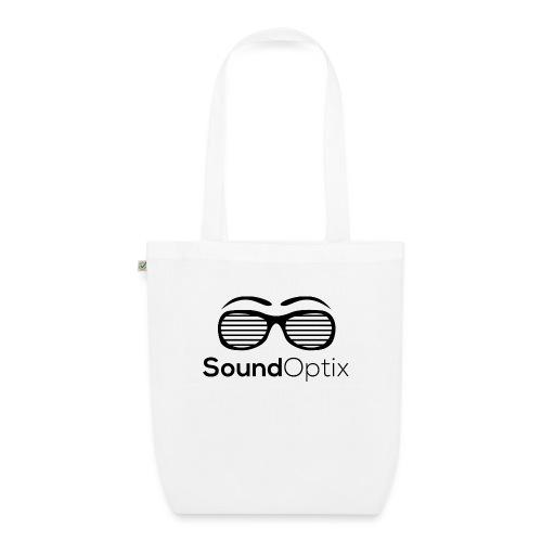 SoundOptix Logo Schwarz - Bio-Stoffbeutel
