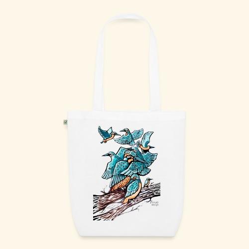Eisvogel Rudel - Bio-Stoffbeutel