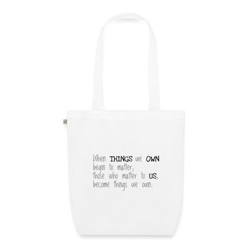 Things - EarthPositive Tote Bag
