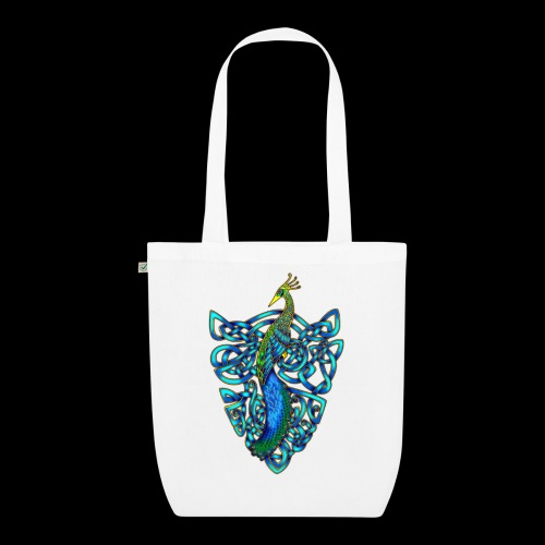 Peacock - EarthPositive Tote Bag
